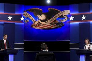 Todo está listo en la Universidad de Las Vegas, Nevada Foto:AFP. Imagen Por: