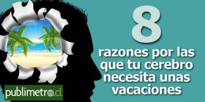 Infografía: 8 razones por las que tu cerebro necesita unas vacaciones