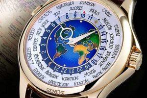El quinto reloj más caro del mundo: Patek Philippe Platinum world Time. Precio: 4.03 millones de dólares (unos $2.600 millones). Fue producido por la primera compañía fabricante de relojes del mundo, Patek Philippe, en 1939. Foto:Reproducción. Imagen Por: