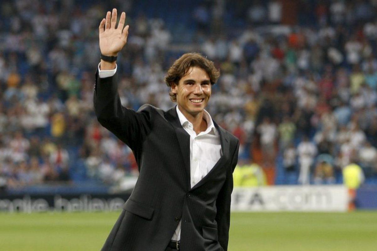 Rafa Nadal (tenista español) – Real Madrid. Imagen Por: