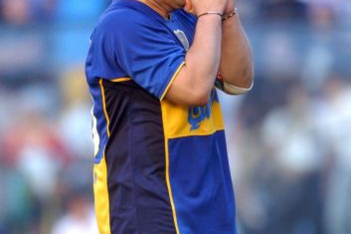 Diego Maradona (exfutbolista) – Boca Juniors. Imagen Por: