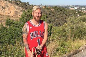 Lionel Messi (futbolista argentino) – Chicago Bulls y Newell's Old Boys. Imagen Por: