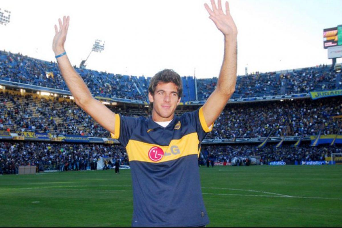Juan Martín del Potro (tenista argentino) – Boca Juniors. Imagen Por: