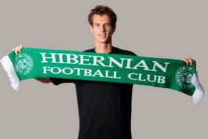 Andy Murray (tenista británico) – Hibernian Football Club. Imagen Por: