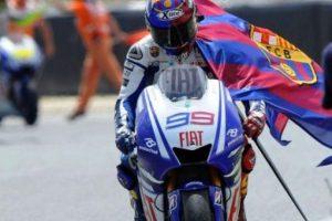 Jorge Lorenzo (motociclista español) – Barcelona. Imagen Por: