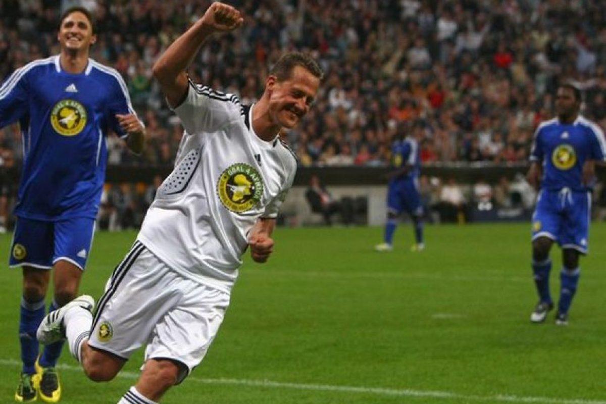 Michael Schumacher (expiloto alemán) – FC Koln. Imagen Por: