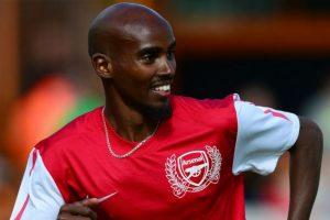 Mo Farah (atleta británico) – Arsenal. Imagen Por: