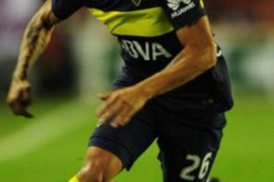 Ricardo Centurión (Boca Juniors). Imagen Por: