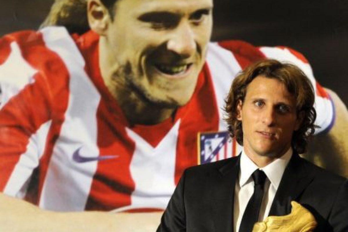 Diego Forlan – Atlético de Madrid (2008/09) Foto:AFP. Imagen Por: