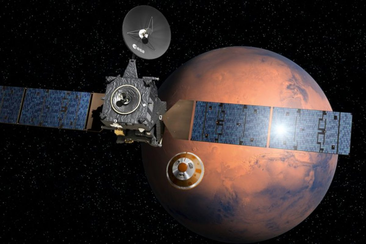 La ESA espera poner un explorador en suelo marciano, similar al Curiosity Foto:AFP. Imagen Por: