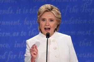 Cinco fotos destacadas del tercer debate presidencial Foto:AFP. Imagen Por: