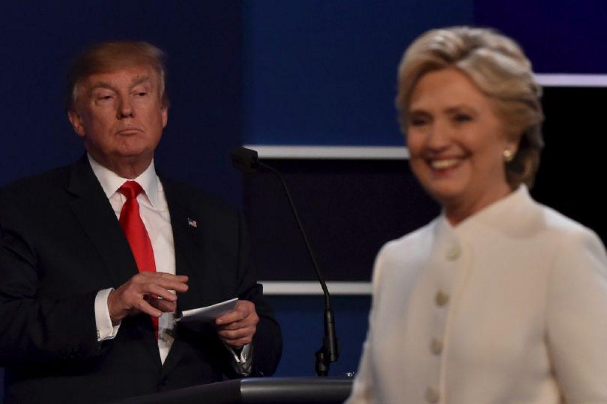 Al final, no hubo saludo entre los candidatos. Foto:AFP. Imagen Por: