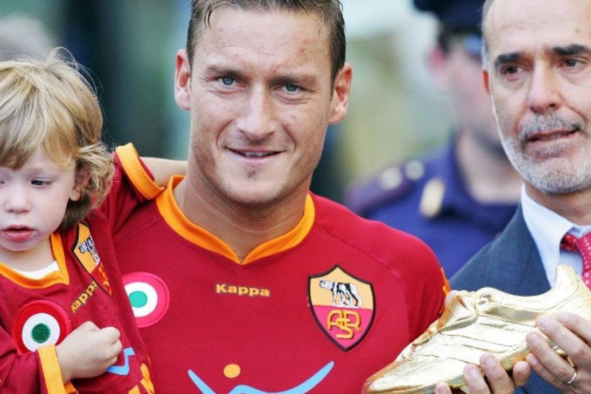 Francesco Totti – AS Roma (2006/07) Foto:AFP. Imagen Por: