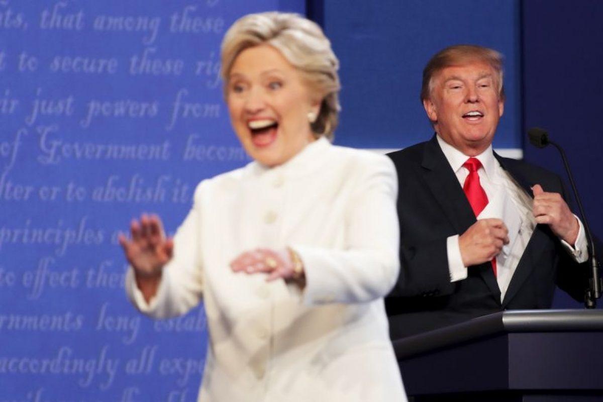 De acuerdo a CNN, Clinton ganó el debate por 52%, contra el 39 de Trump Foto:AFP. Imagen Por:
