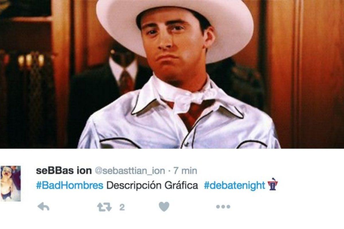 """Y la expresión """"Bad Hombres"""" Foto:Twitter.com. Imagen Por:"""