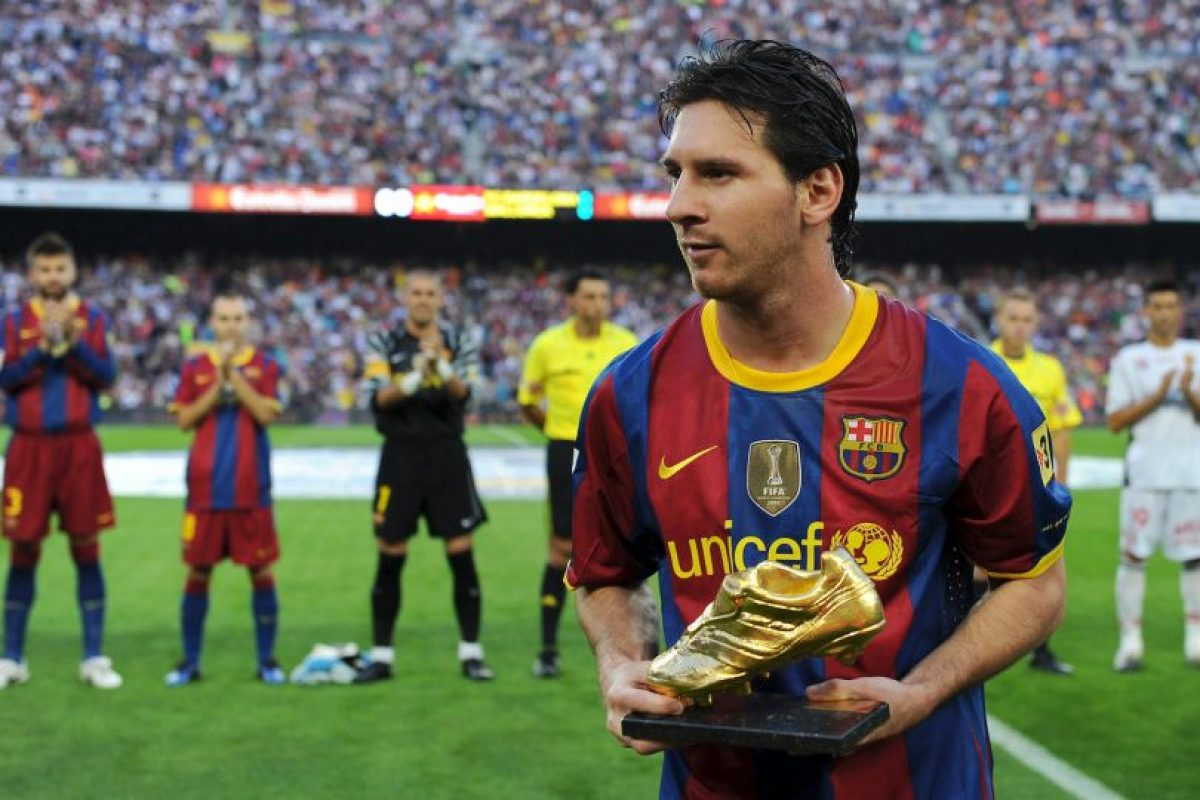 Lionel Messi – Barcelona (2009/10) Foto: Getty Images. Imagen Por: