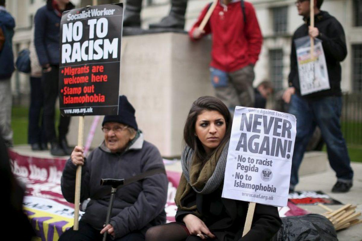 Organizaciones civiles en Reino Unido emitieron recomendaciones ante los ataques racistas Foto:Getty Images. Imagen Por: