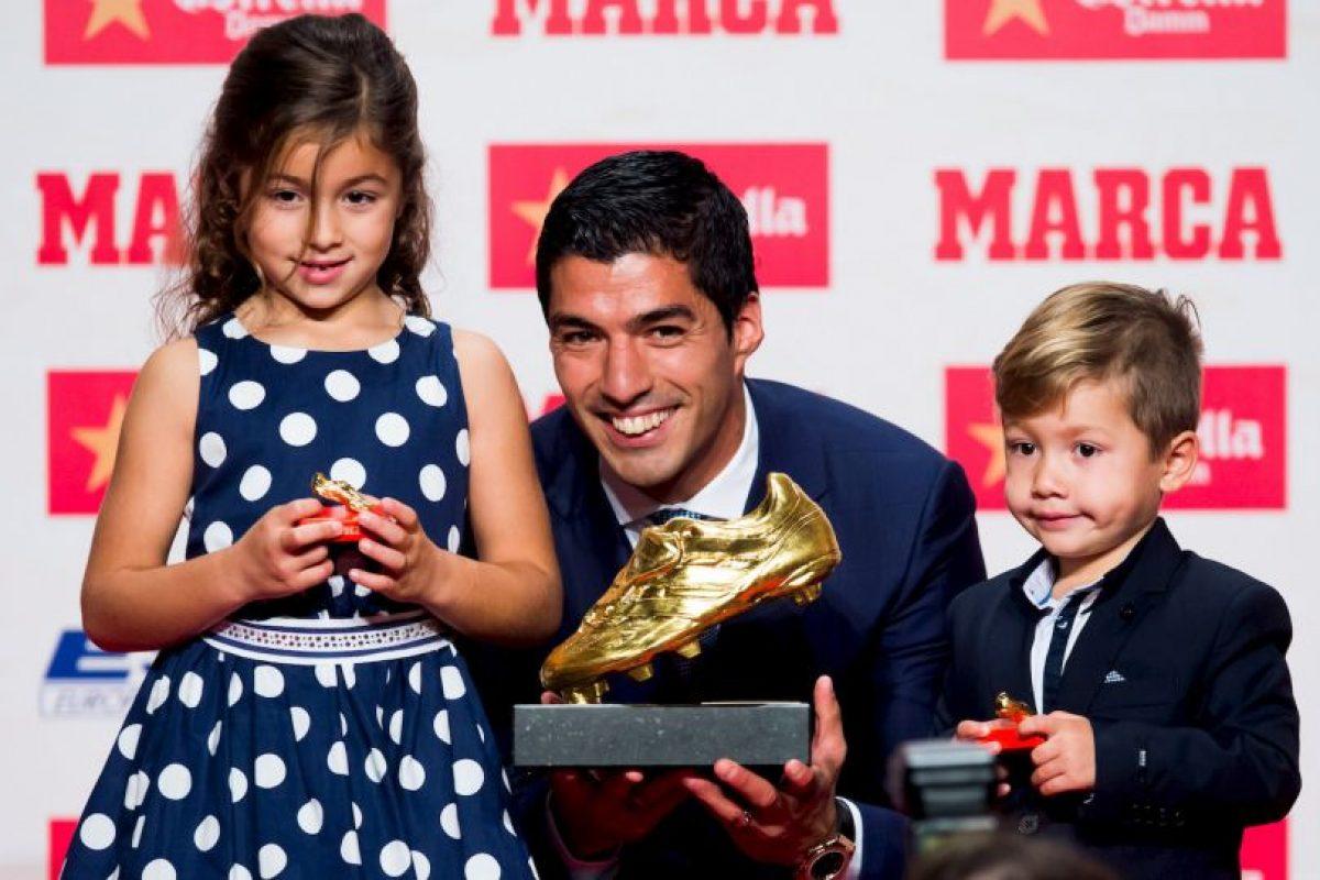 Luis Suárez – FC Barcelona (2015/2016) Foto:Getty Images. Imagen Por: