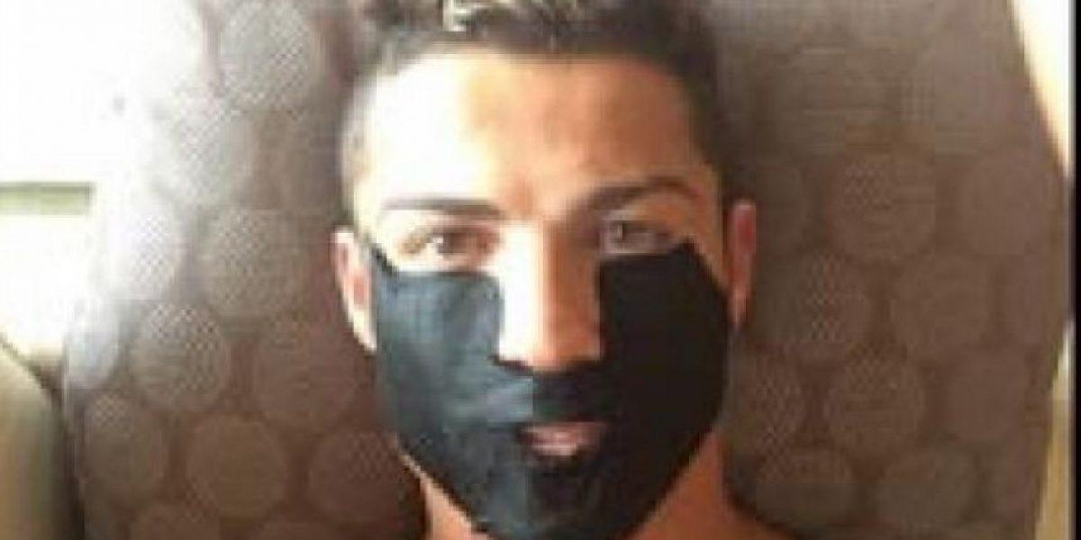 Cristiano más preocupado por su rostro que de su falta de gol