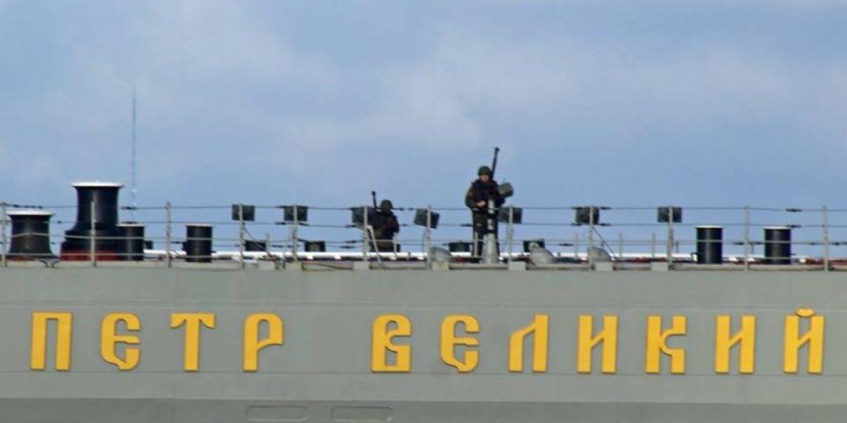 Flota nuclear rusa entra al Canal de la Mancha: naves portan guardias armados apuntando a la costa