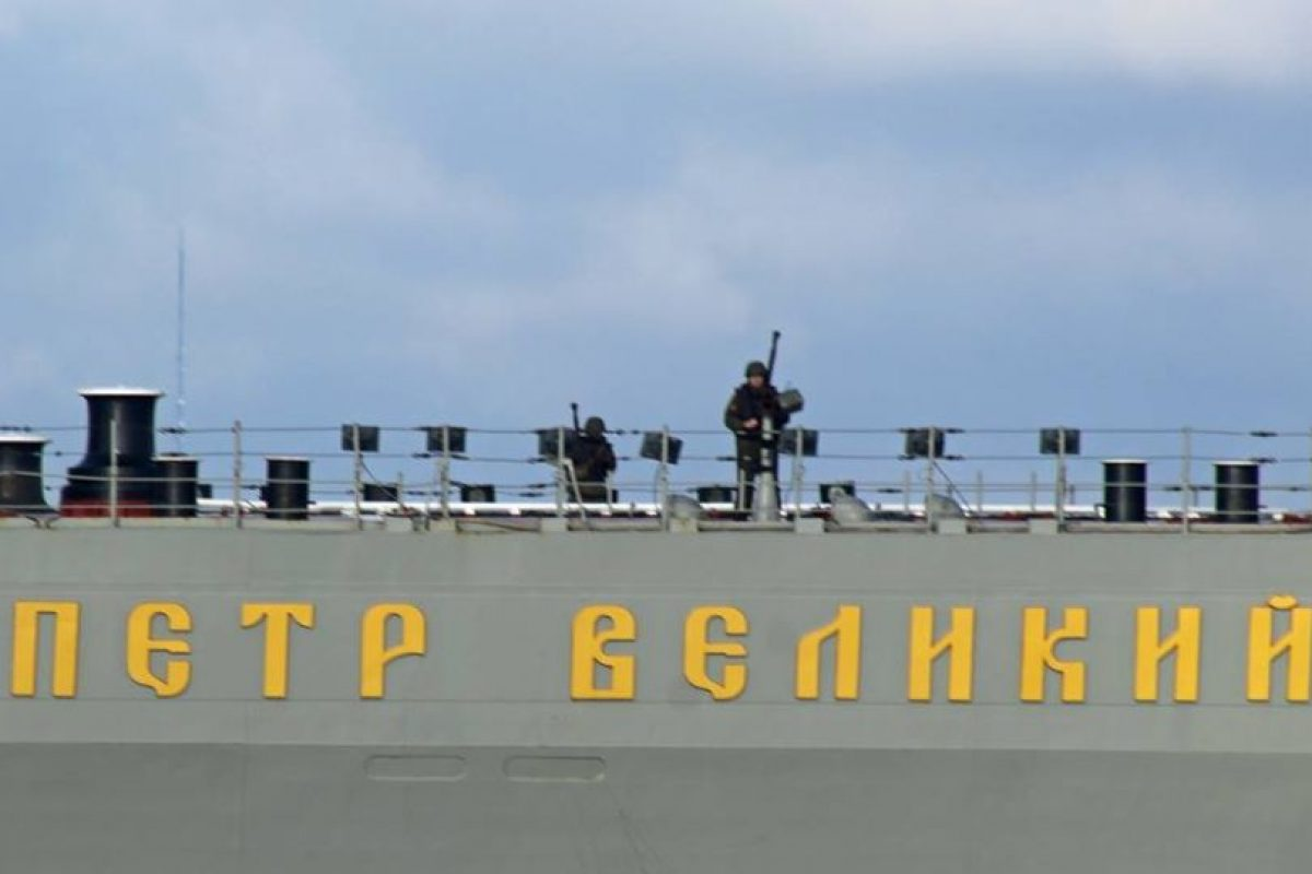Guardías rusos armados Foto:Facebook Dover-Marina.com. Imagen Por: