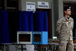 Los locales de votación abrirán desde las 8 de la mañana del domingo. Foto:Agencia UNO. Imagen Por: