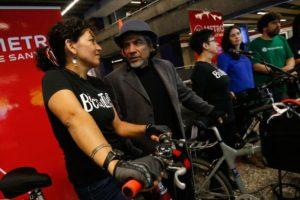 Metro abrirá a las 7 am y habilitará el primer vagón de cada tren para trasladar bicicletas. Foto:Gentileza. Imagen Por: