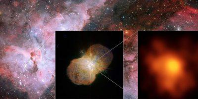 """Equipo de astrónomos capta desde Chile impactantes imágenes de """"monstruo estelar"""""""