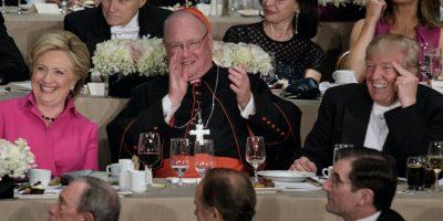 Las bromas e indirectas entre Clinton y Trump en tradicional cena de caridad