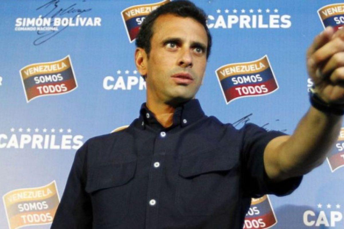 Henrique Capriles. Foto:Efe. Imagen Por: