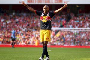 Thierry Henry en su retorno al Emirates Stadium Foto:Getty Images. Imagen Por: