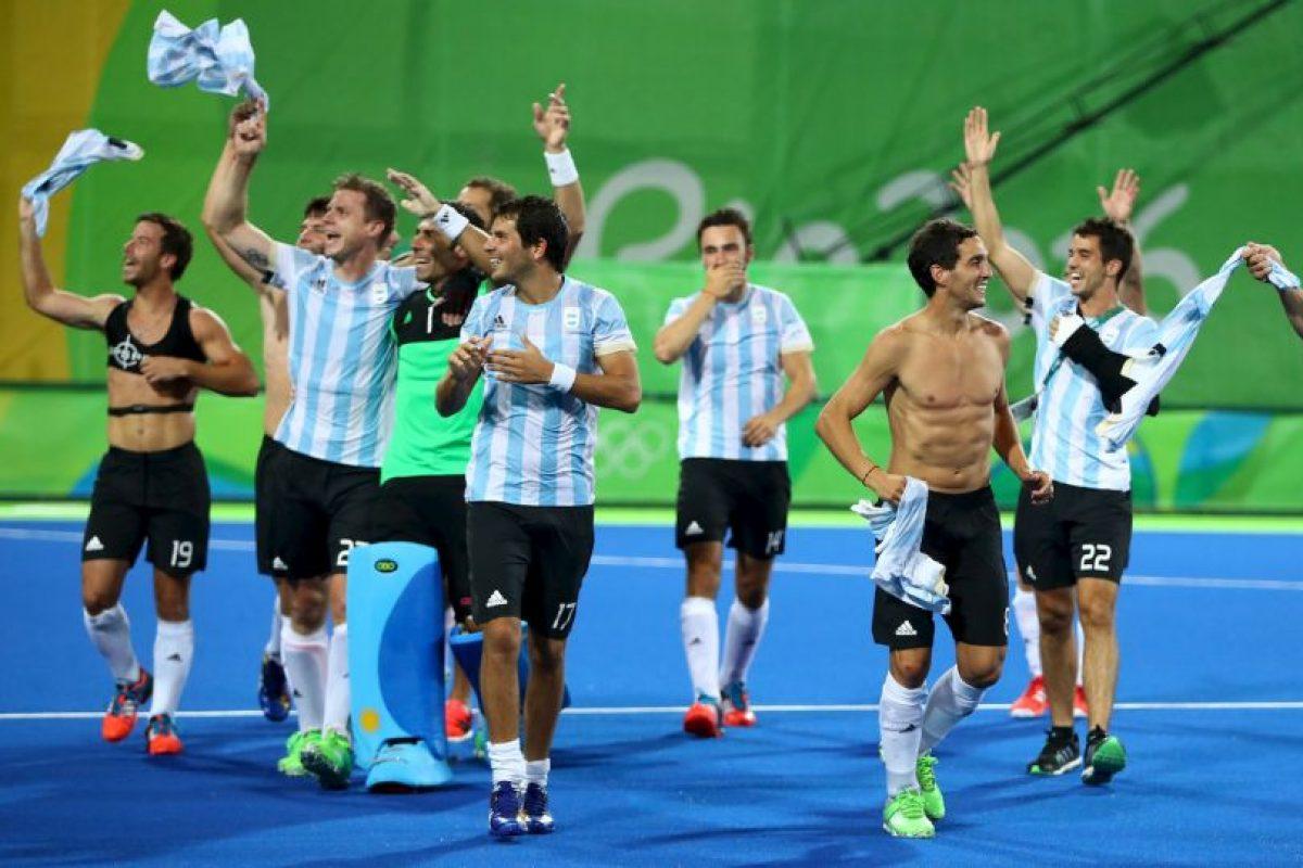 La Selección de Argentina ganó el oro en los JO de Río 2016 Foto:Getty Images. Imagen Por: