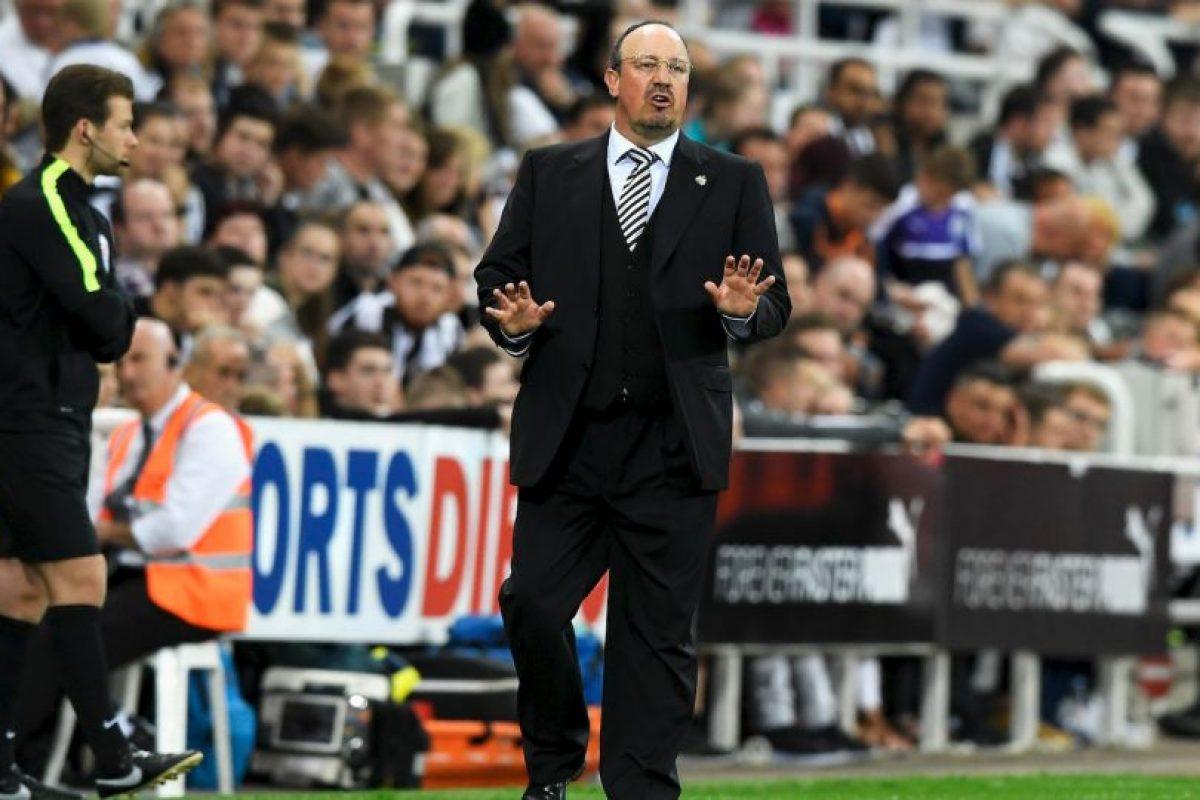 Rafael Benitez. Se fue sin pena ni gloria del Madrid. Foto:Getty Images. Imagen Por: