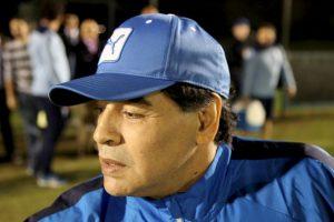 Diego Armando Maradona. Fue eliminado en el Mundial de Sudáfrica 2010 en cuartos de final Foto:Getty Images. Imagen Por: