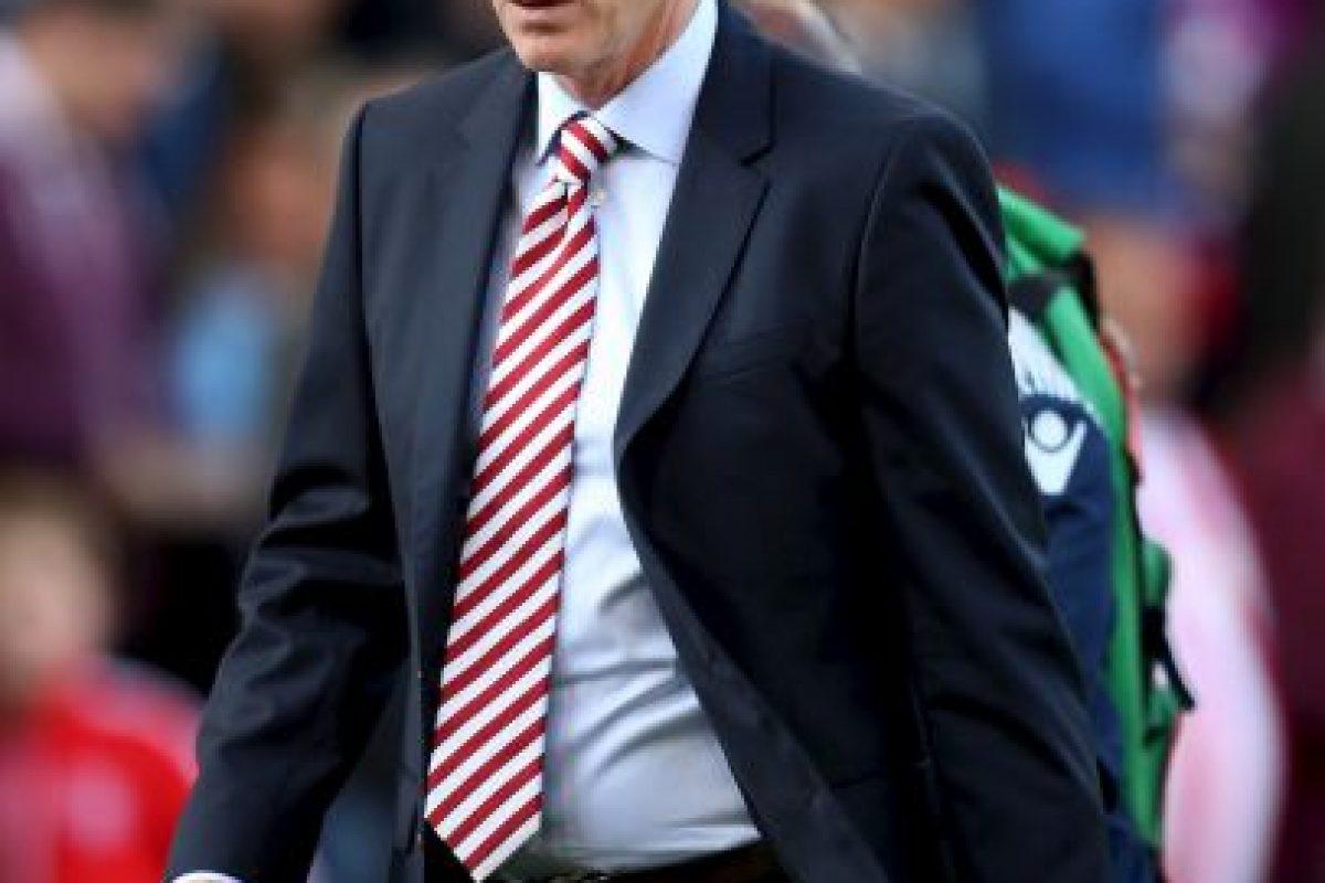 David Moyes. Llegó al Manchester United como el sucesor de Alex Ferguson y salió por la puerta de atrás Foto:Getty Images. Imagen Por: