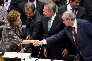 Eduardo Cunha fue presidente de la Cámara de Diputados y promovió el impeachment contra la expresidenta Dilma Rousseff Foto:AFP. Imagen Por: