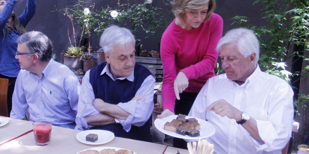 Piñera llama a participar en las elecciones municipales tras desayuno con candidatos de Chile Vamos