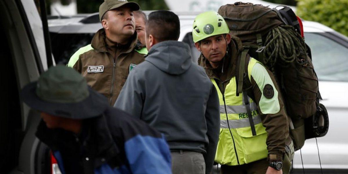 Universitarios desaparecidos en cerro Provincia: expertos en montañismo se suman a búsqueda