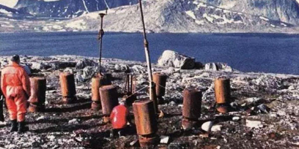 Encuentran base meteorológica nazi en isla del Círculo Polar Ártico