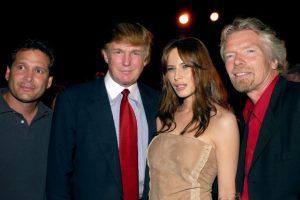 Donald Trump y Richard Branson, en 2002 Foto:Getyy Images. Imagen Por: