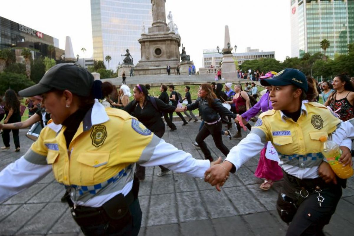 Esta semana, millones de mujeres en América Latina salieron a las calles para manifestarse contra la violencia hacia las mujeres Foto:AFP. Imagen Por: