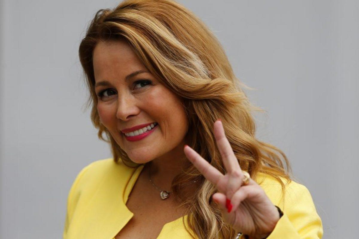 Cathy Barriga, candidata a alcaldesa por Maipú. Foto:Aton. Imagen Por: