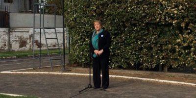 Presidenta Bachelet vota y le resta importancia al error en el padrón electoral