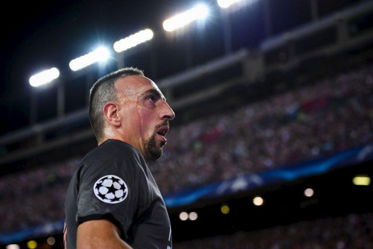 Franck Ribery. El galo llegó a valer 50 millones de euros en 2010. En la actualidad cuesta nueve millones Foto:Getty Images. Imagen Por: