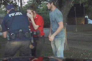 El policía dio los primeros auxilios Foto:City of Granbury City Hall. Imagen Por: