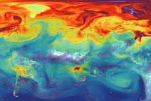 La Organización Mundial de la Meteorología (OMM), advirtió que durante el año recién pasado, la concentración atmosférica de CO2 -principal gas de efecto invernadero de larga duración- alcanzó 400 partes por millón (ppm). Las emisiones de dióxido de carbono son dominadas por EEUU, China y Europa. Foto:Nasa. Imagen Por: