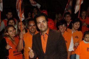 René de la Vega, alcalde electo de Conchalí. Foto:Agencia Uno. Imagen Por: