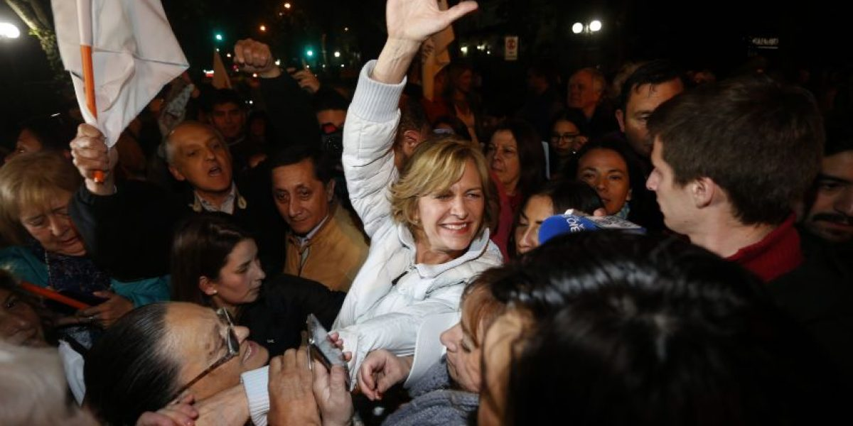 Evelyn Matthei se consolida como la gran ganadora en Providencia