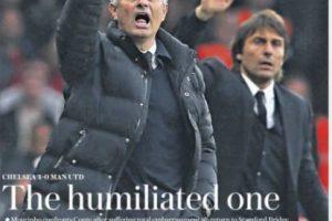 """""""Humillado"""". Esa fue la palabra para definir la derrota de Manchester United por 4 a 0 ante Chelsea.. Imagen Por:"""