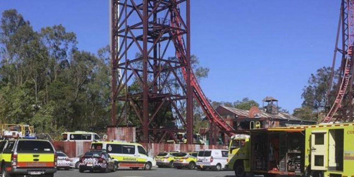 Tragedia en Australia: cuatro muertos en accidente en un parque de atracciones